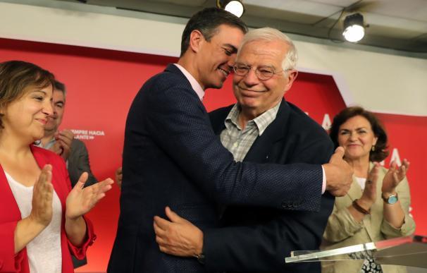 Sánchez quiere capitalizar en Bruselas el triunfo de Borrel en las elecciones europeas