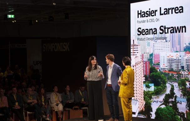 Presentación de Abracadabra durante 'Democratic Design Days' de Ikea en Almhult, Suecia.