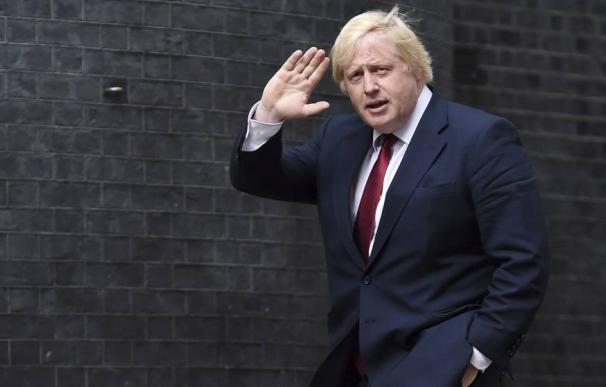 El exalcalde de Londres y exministro de Exteriores británico, Boris Johnson. (EFE)