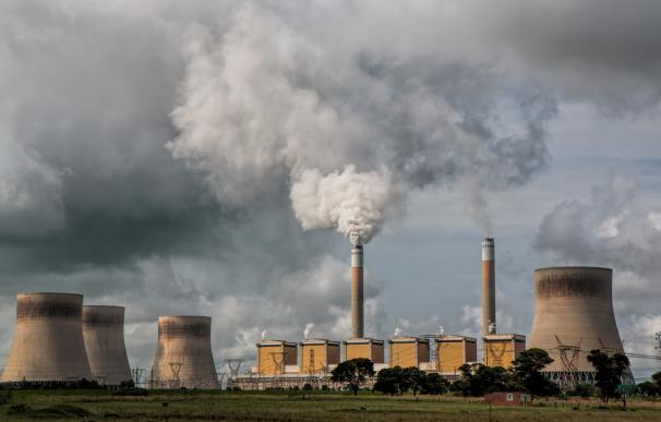 Una planta de energía