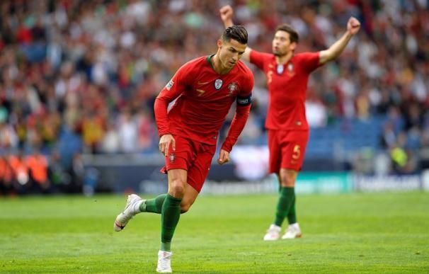 Cristiano Ronaldo, durante el Portugal - Suiza del 5 de junio de 2019