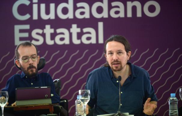 Pablo Echenique y Pablo Iglesias