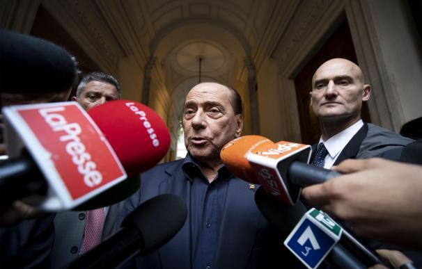Berlusconi ha vuelto a la primera línea política en Italia.