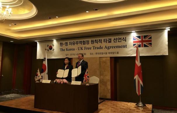 Acuerdo Corea del Sur - UK