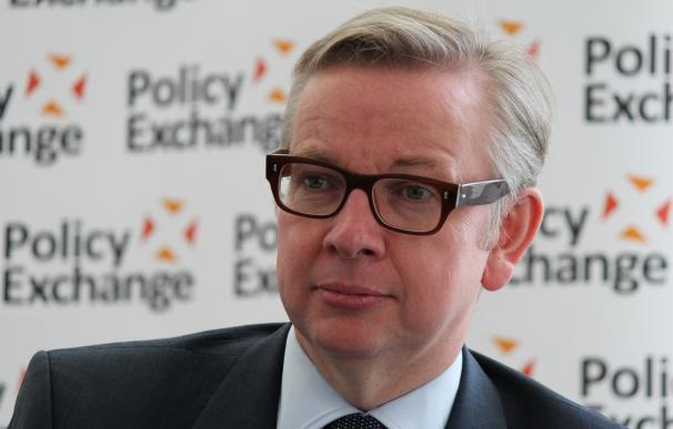 Michael Gove, ministro de Exteriores británico