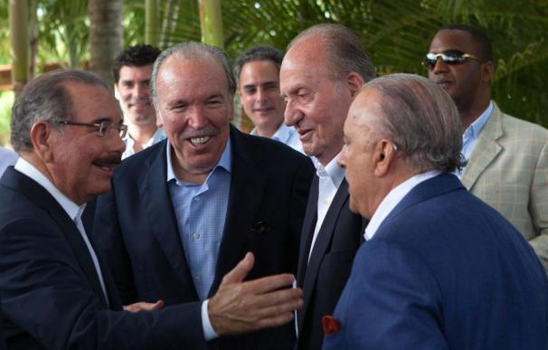 Pepe Fanjul y el rey don Juan Carlos.