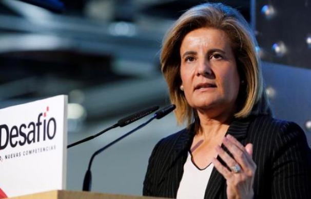La ex ministra de Empleo, Fátima Báñez. / EFE