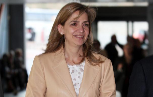 La Infanta Cristina prevé viajar a Madrid para visitar a su padre