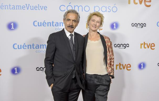 Imanol Arias y Ana Duato