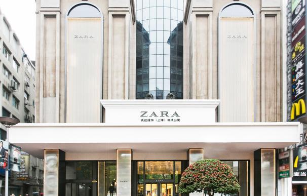 Tienda de Inditex en Shanghai, China