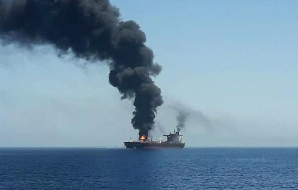 Posible ataque a un petrolero en el Golfo de Omán