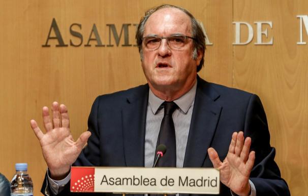 Ángel Gabilondo, PSOE, Madrid