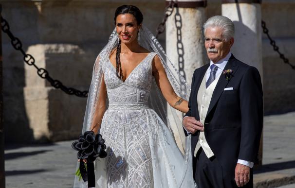 Pilar Rubio, de novia