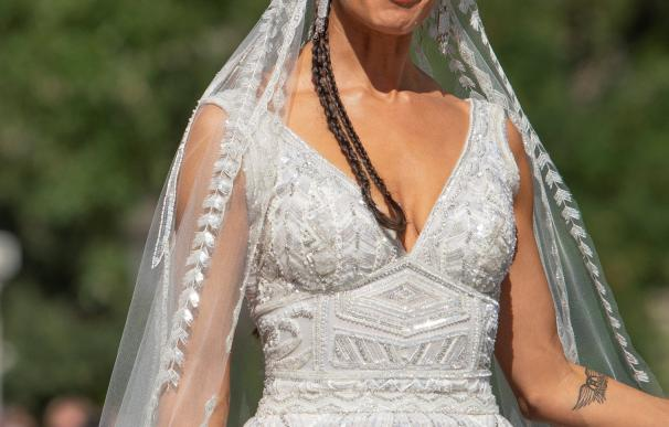 Vestido de novia de Pilar Rubio