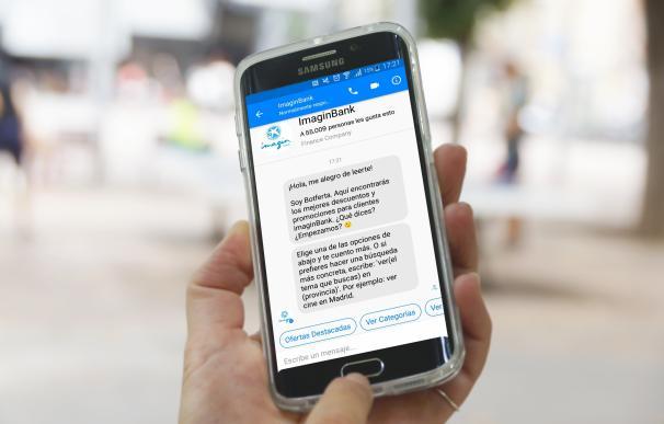 ImaginBank (CaixaBank) lanza el primer 'chatbot' del sector financiero en España
