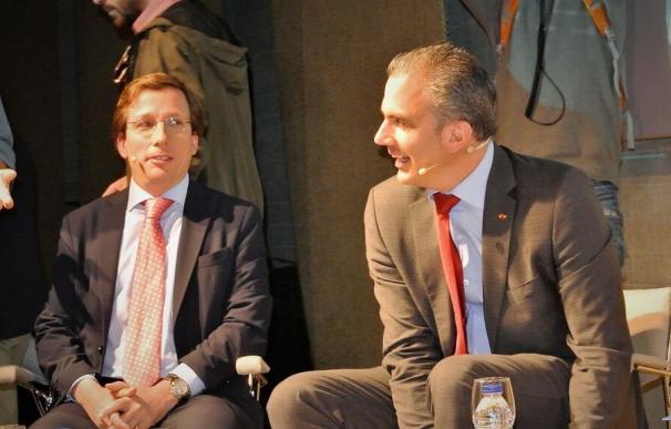 """Almeida y Ortega Smith se reúnen por primera vez desde el 26M: """"Se aleja la amenaza de Carmena en el Ayuntamiento"""""""