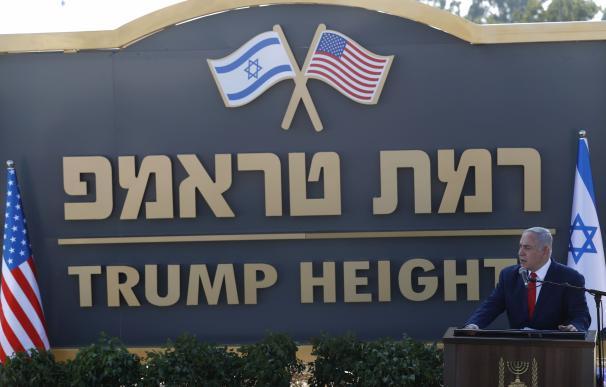 Inauguración de los Altos de Trump