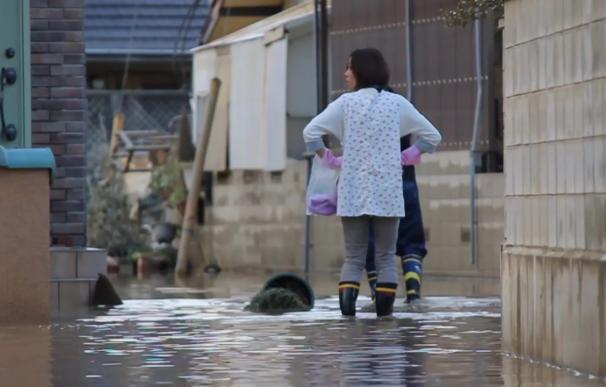Japón sufre las peores inundaciones desde 1983