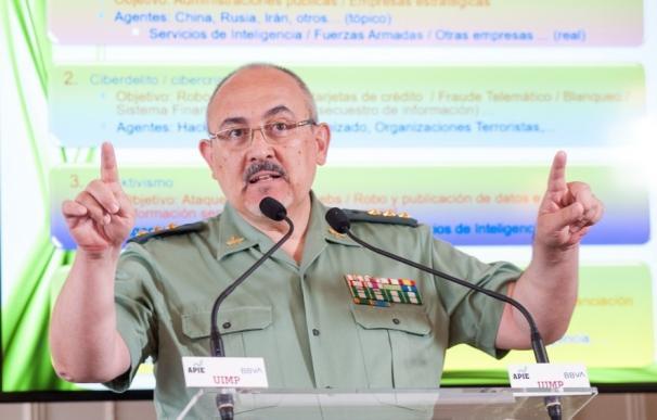 Luis Fernando Hernández García, responsable de tecnología de la Guardia Civil