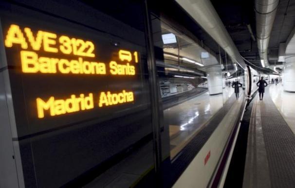 Fotografía AVE Barcelona-Madrid / EFE