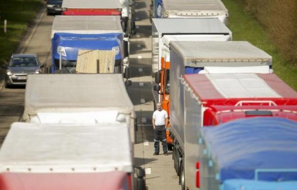 Fotografía camioneros / EFE