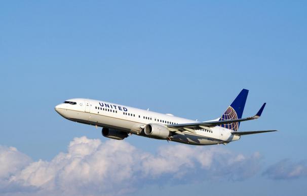 United Airlines transportó 20,36 millones de pasajeros hasta febrero, un 0,2% más