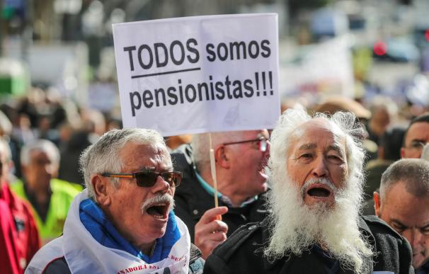 pensionistas Madrid
