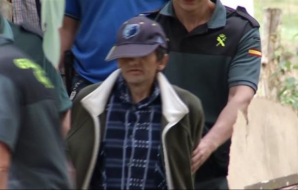 """D. J. J., conocido como """"El Araña"""" tras ser detenido. /RTPA"""