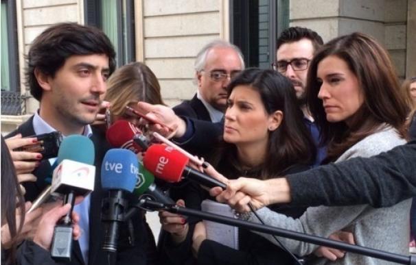 """Roldán (Ciudadanos) dice que Rivera simplemente ha ofrecido una opción para formar gobierno sin """"personalismos"""""""
