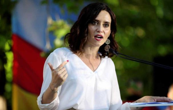 La candidata del PP a la Comunidad de Madrid, Isabel Díaz Ayuso. /EFE