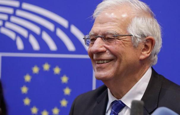 Josep Borrell, en Bruselas este 26 de junio de 2019