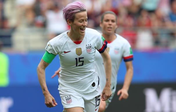 Megan Rapinoe, capitana de la selección femenina de EEUU de fútbol