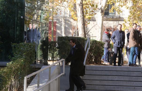 Javier López Madrid llega a la Audiencia Nacional para declarar