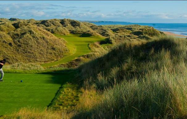 El campo de golf de Trump en Escocia