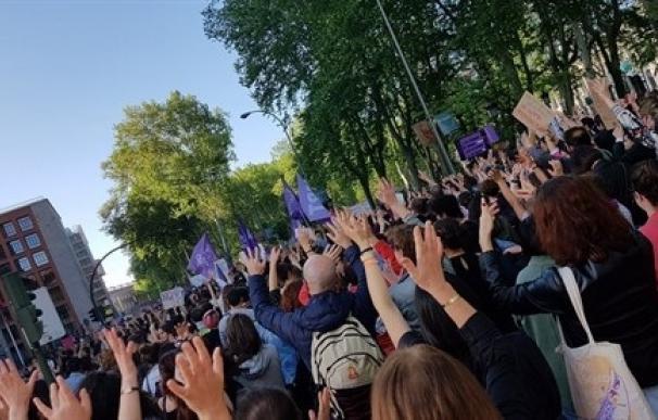 Manifestación contra la agresión sexual a mujeres y menores