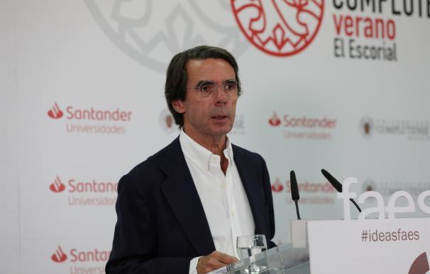 José María Aznar, cursos en El Escorial