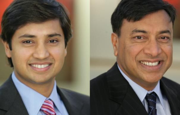 Aditya y Lakshmi Mittal, dueños del 37% de Arcelor.