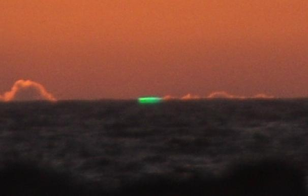 Rayo verde Islas Cíes