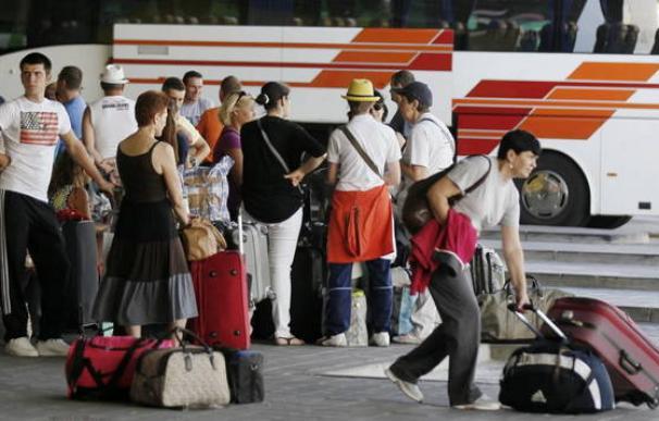 Fotografía estación de autobuses de Méndez Álvaro / EFE