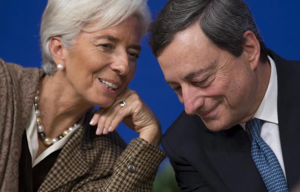 Draghi y Lagarde abren hoy la conferencia internacional del BCE en Sintra