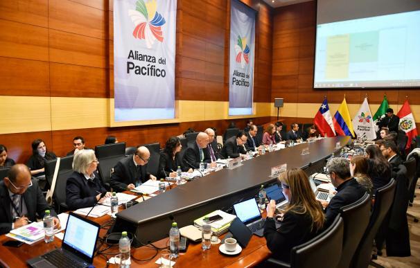 Reunión Alianza del Pacífico / Cancillería de Perú