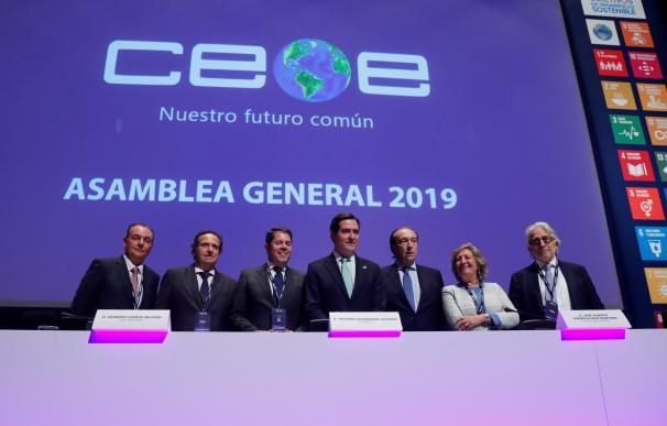 Asamblea general CEOE, Antonio Garamendi