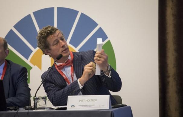 Piet Holtrop, socio de la Fundación Renovables y abogado internacional. /L.I.