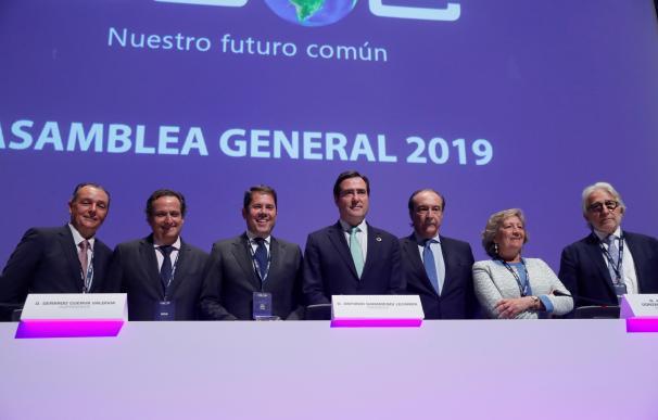 Fotografía presidente y vicepresidentes CEOE / EFE
