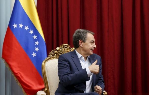 Zapatero, en la anterior visita a Venezuela.