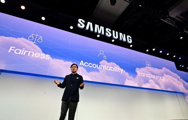 HS Kim, presidente de Samsung Consumo, en el CES 2019
