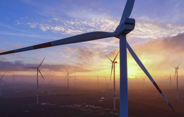 Energía eólica bolo
