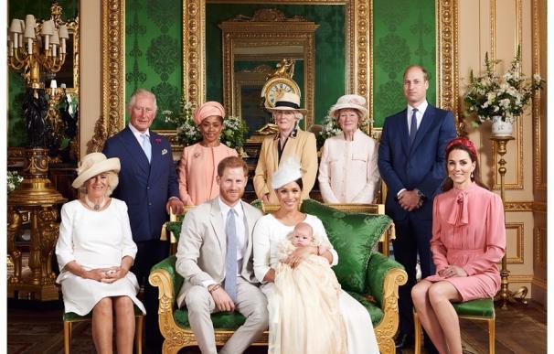Archie Harrison Mountbatten-Windsor fue bautizado en una capilla privada del Castillo de Windsor. /Chris Allerton ©️SussexRoyal