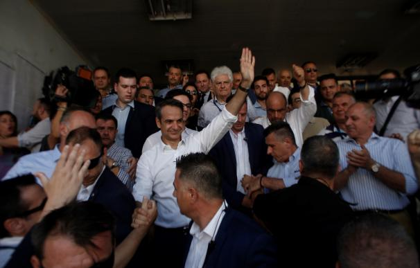 El vencedor de las elecciones griegas, Kyriakos Mitsotakis