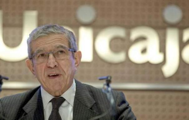 El presidente de Unicaja, Braulio Medel.